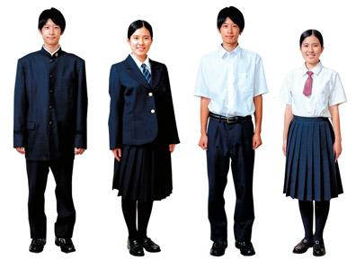 日本大学高等学校制服画像
