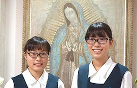 勝田さん(左)、児玉さん(右)