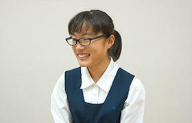 英検2級を取得した勝田さん