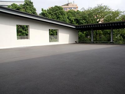 帝翔塾の教室に隣接した「帝小テラス」