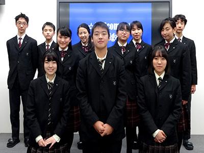 「生徒による学校説明会」の運営に参加したメンバー