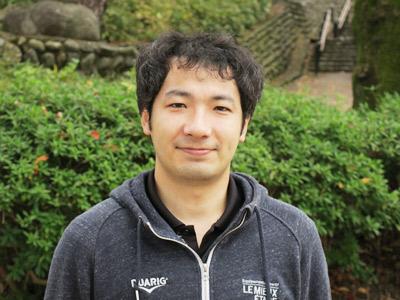 数学科の宇野先生。