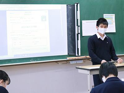 鎌倉に行った生徒
