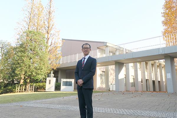 副校長の菱山和広先生