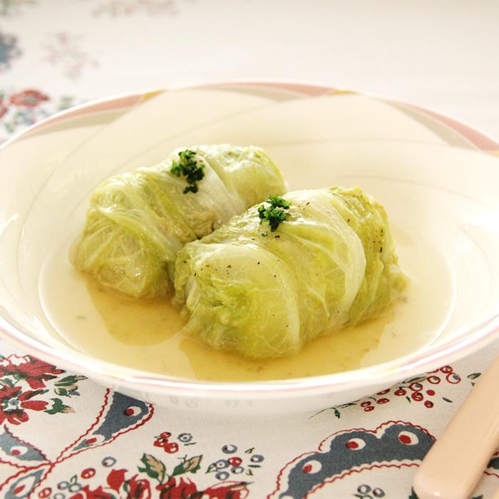 「寒い夜のおかずに体の芯から温まるロール白菜」記事サムネイル
