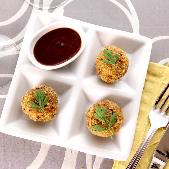 「冬のお野菜レンコンでメンチカツ!ココアのソースで召し上がれ」記事サムネイル