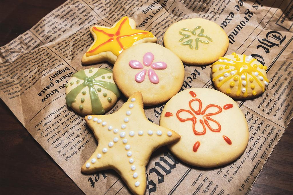 ふなばし三番瀬環境学習館 さばかんチャンネル「ホワイトデー!棘皮動物☆クッキー」
