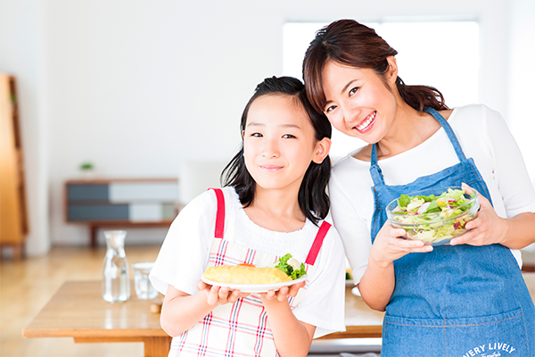休日の悩みの種「食事」の準備を楽しみに!
