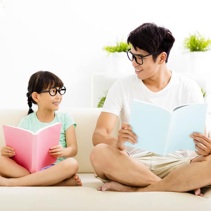 「「本好きな子」にしたいなら親が読書しよう!」記事サムネイル