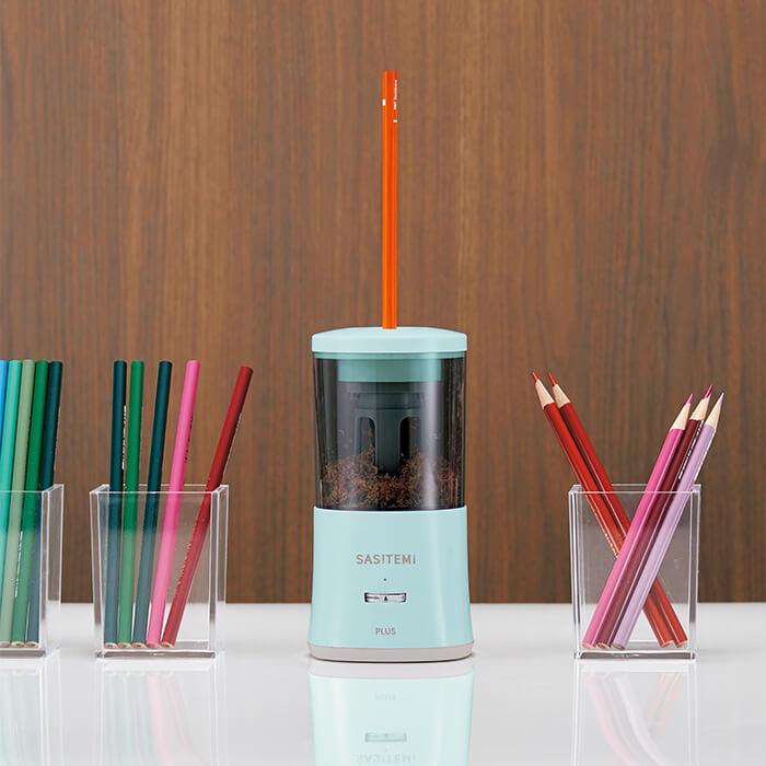 「鉛筆を削るストレスから解放!全自動鉛筆削りプレゼント」記事サムネイル