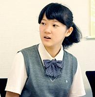 田村さん(中3)