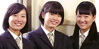来校者をとりこにする京華女子のおもてなし