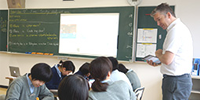 「LTE」の授業に密着!