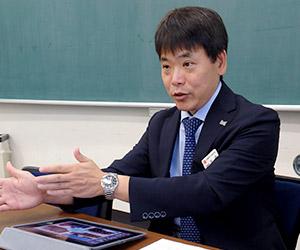 副校長の浅見 尚次郎先生