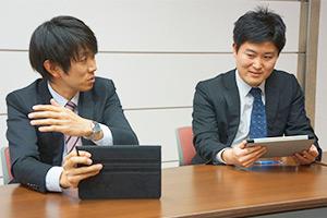 左から佐藤先生、櫻井先生