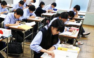 日駒生の授業風景1