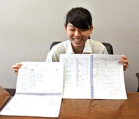家庭学習帳とSSノート